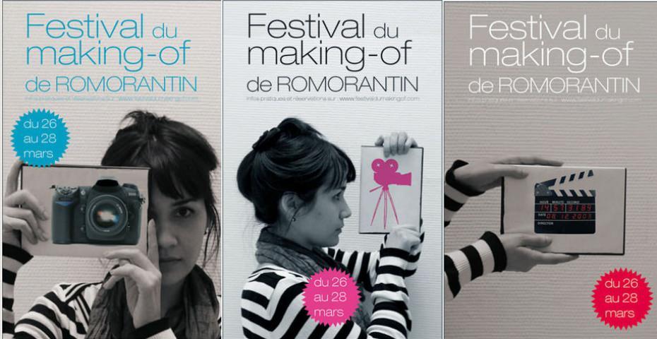 AFFICHE POUR LE FESTIVAL DU MAKING-OF DE ROMORANTIN : PISTE 3