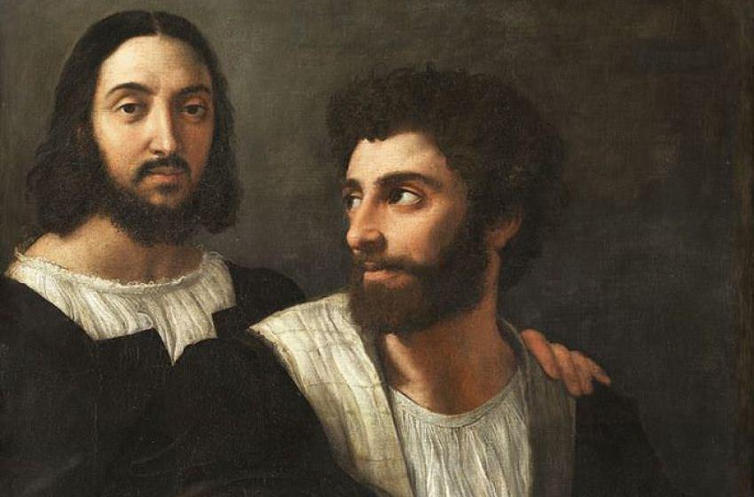 autoportrait-avec-un-ami-Raphael