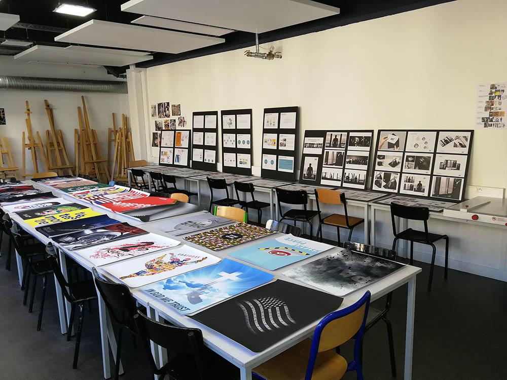 CIFACOM GRAPHISME EXPO ELEVES 2019