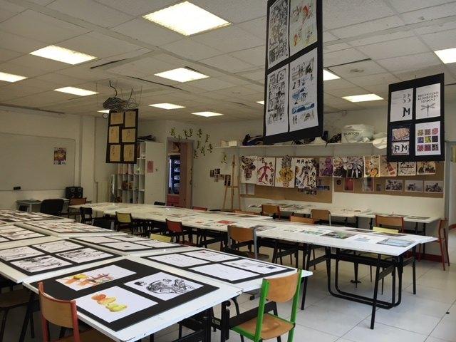 la vie de l'école de graphisme cifacom