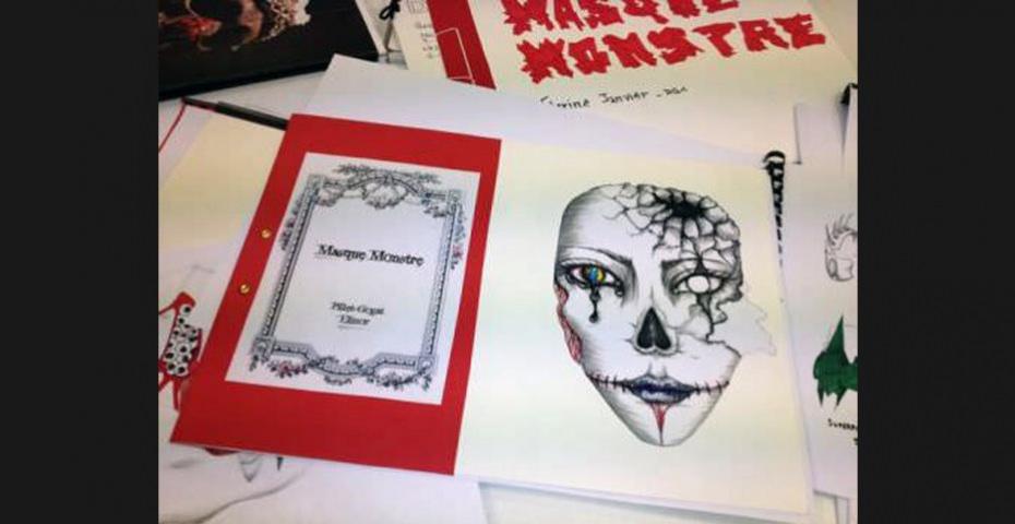 MASQUES-MONSTRES -  BTS DESIGN GRAPHIQUE, PROMOTION 2014