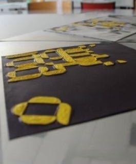 Portes Ouvertes à l'Ecole de Graphisme : atelier de typographie