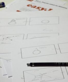 Une rentrée marathon pour les étudiants de 1ère année du BTS Design Graphique