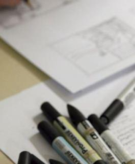 Concours de dessin Fabriano : la MANAA en pleine création !