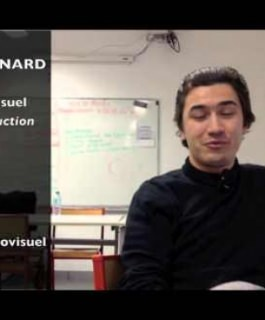Paulin Reynard - Etudiant du BTS Audiovisuel option Production, Promotion 2013