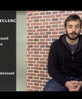 Alexandre Leclerc - Etudiant BTS Audiovisuel Option Image
