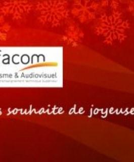 C'est Noël : Bonnes fêtes aux étudiants de l'Ecole d'Audiovisuel !