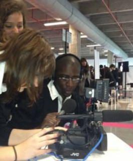 Les Bachelor Audiovisuel au service du salon Le Start 2012