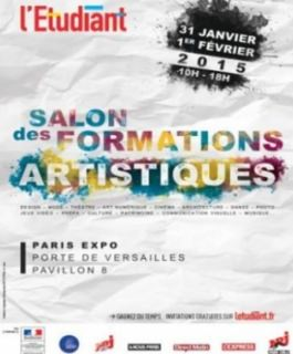 Stand A9 du Salon des formations artistiques de l'Etudiant : CIFACOM !