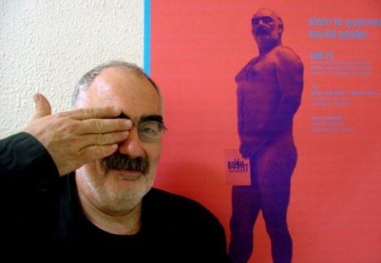 Workshop avec l'affichiste Alain Le Quernec