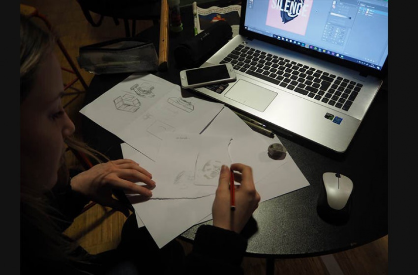 workshop le silence manaa bts design graphique
